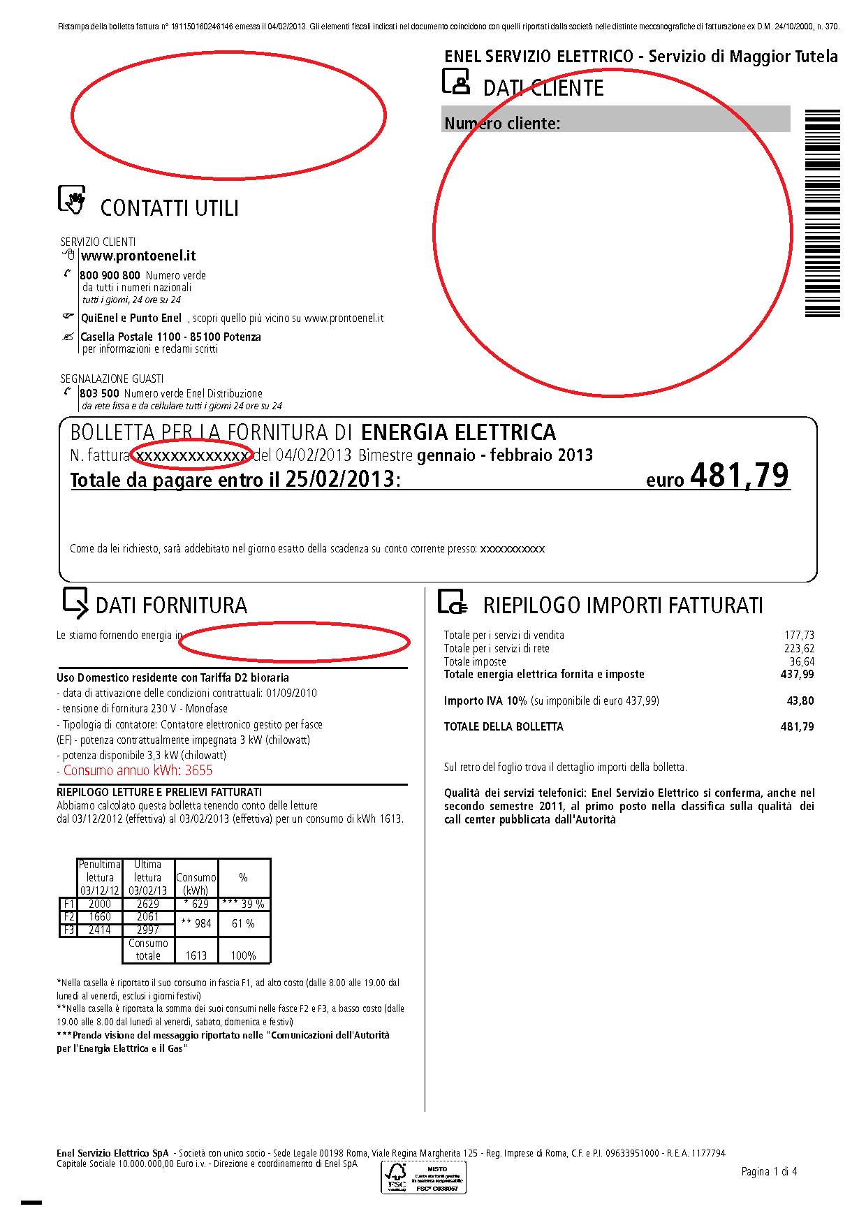 bollette enel pdf