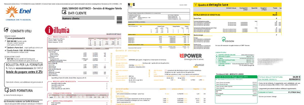 Analisi delle Bollette - Analista e Broker Energetico